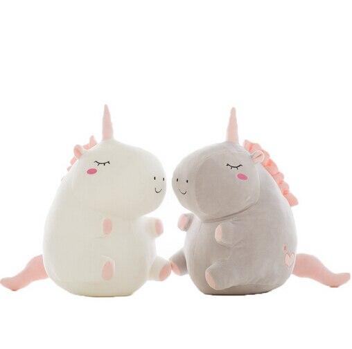 Плюшевая игрушка в виде единорога, 25 см, мягкая подушка в виде милых животных, детские игрушки для девочек, подарок на день рождения, Рождество