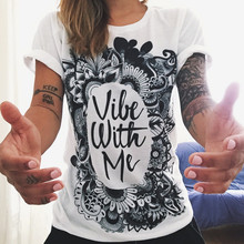 2019 New Women T-shirts Casual Letter Printed Tops Tee Summer Female T shirt Short Sleeve T shirt For Women Clothing fung twenty one pilots women t shirt vest new casual letter printed female short sleeved t shirts tank tops
