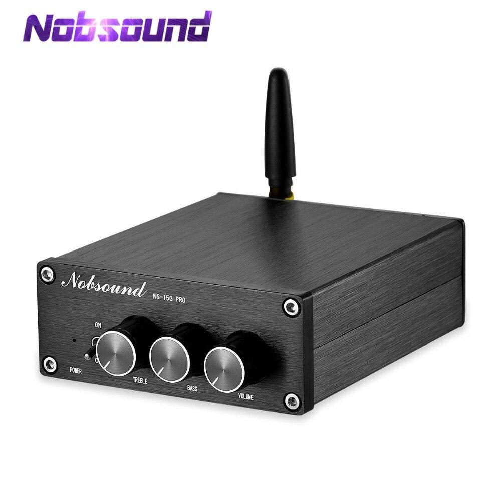 Nobsound Mini Bluetooth 5 0 TPA3116 Digital Audio Amplifier HiFi Class D Stereo Power Amp PCM5102A
