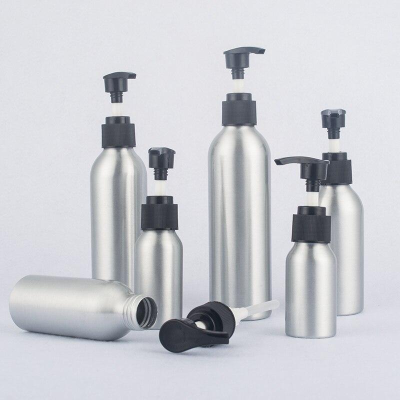 40ml-250ml Screw Pump Aluminum Bottle,Hand Washing Liquid Aluminum Bottle