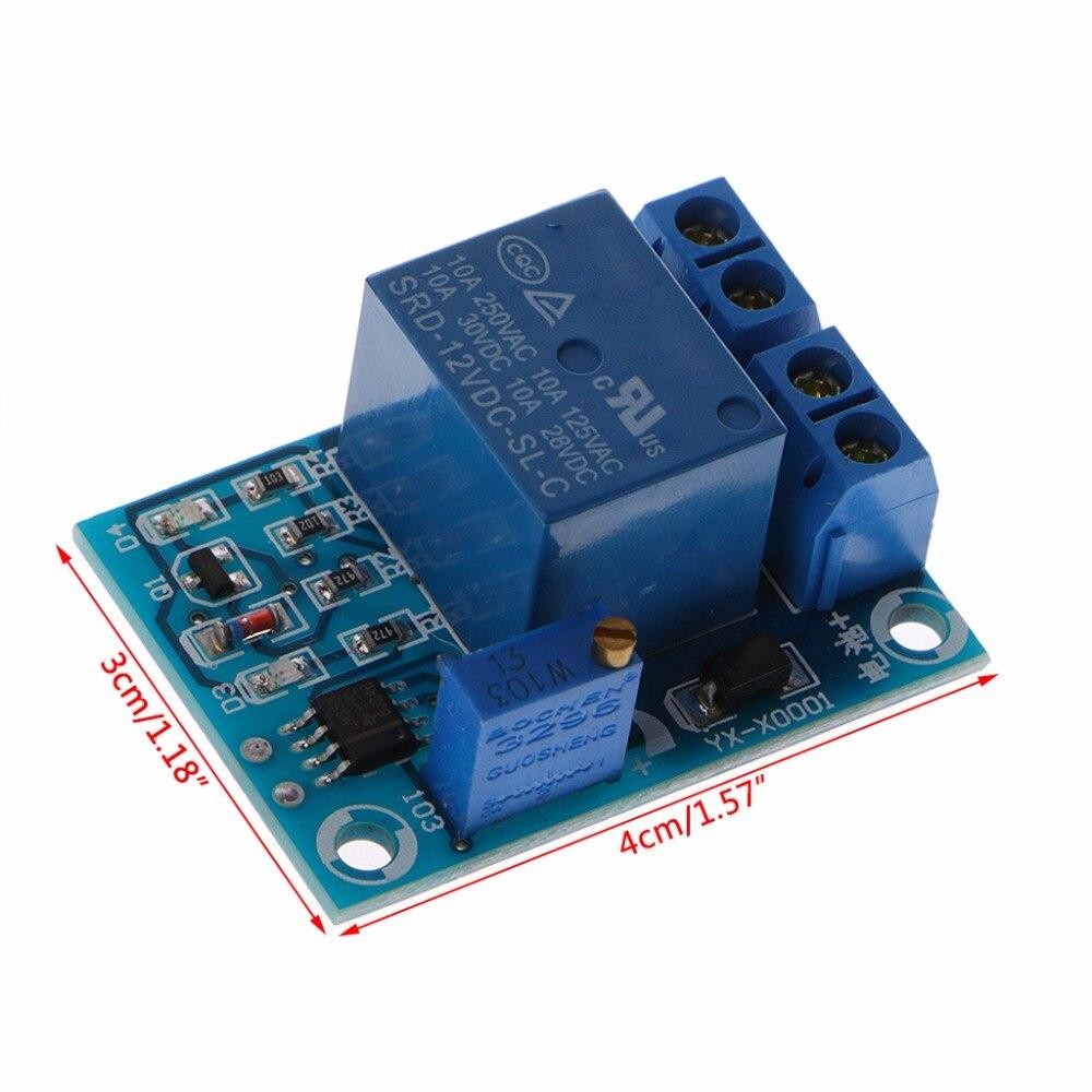 DC 12 В Батарея низкая Напряжение отрезать switch контроллер чрезмерной защиты модуль Интегральные схемы