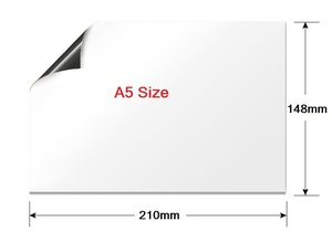 Image 3 - Smart Board Vinyl Kühlschrank Magnet Whiteboard Magnetischen Magneten Büro Memo Pad Hause Planer Schreibtafel Veranstalter Notizblock Marker