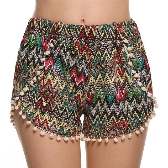 98ac117a7 Cheap Clothes China Shorts Women Bermudas Beach Summer Style Roupas  Feminina Tassel Pantalones Cortos Mujer Femme Feminino Short