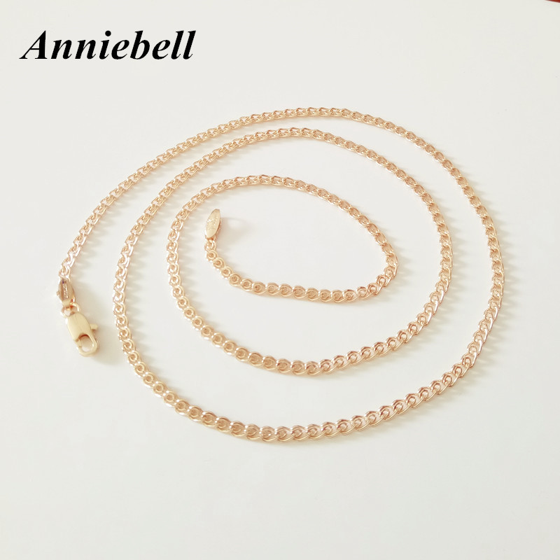 Anniebell Jewelry Copper Long Necklace For Women Men