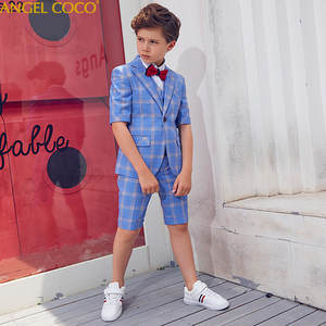 a2f8e4fde ANGEL COCO Children'S Boys Suit Kids Wedding Blazers