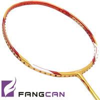 Fangcan Badminton Racket N90 II 3pcs With Racket Covers 3pcs Grip As Gift Graphite Fiber High