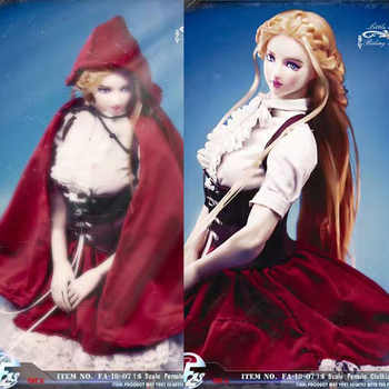 1/6 Scale 1/6 FA-18-07 Little Red Riding Hood Gothic Lolita clothing set for TBleague S22A 12 inches Action Figure Model - DISCOUNT ITEM  26 OFF Toys & Hobbies