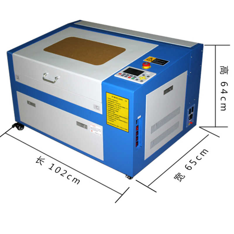 """K3050 לייזר חריטת מכונת 50 w לייזר מכונת חיתוך חריטת אזור של 500*300 מ""""מ"""