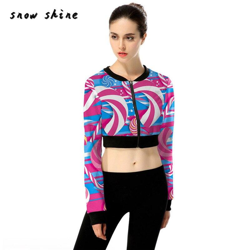 snowshine 20 femmes color veste courte automne hiver rue veste casual mini veste livraison gratuite - Veste Colore Femme