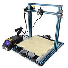 2017 новые creality 3D CR-10 широкоформатной печати Размеры 500*500*500 мм DIY Рабочего 3D комплект принтера Multi- тип нити с подогревом кровать