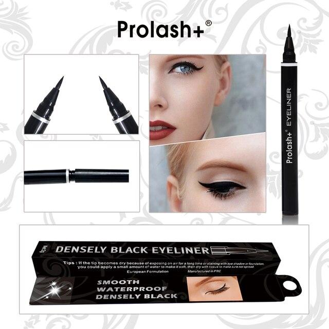 Черный Водонепроницаемый жидкая подводка для глаз долговечные Не Диззи Eye Liner Pencil косметическая Макияж глаз инструмент