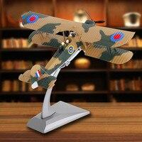 15.5*19*14.5cm Swordfish Torpedo Attack Model World War II Diecast Airplane Model Alloy Aircraft Model Fighter Military 1:72