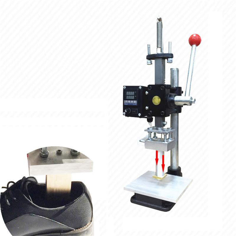 Hot Foil Stamping Pressure Mark machine 5*7cm Manual Bronzing Machine for PVC leather PU Shoes insole Stamping hot foil stamping pressure mark machine 5 7cm 8 10cm 10 13cm manual bronzing machine for pvc leather pu and paper stamping