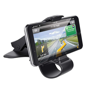 Car Phone Holder Dashboard Mount Universal Cradle Cellphone Clip GPS Bracket Mobile Phone Holder Stand for Phone in Car 1