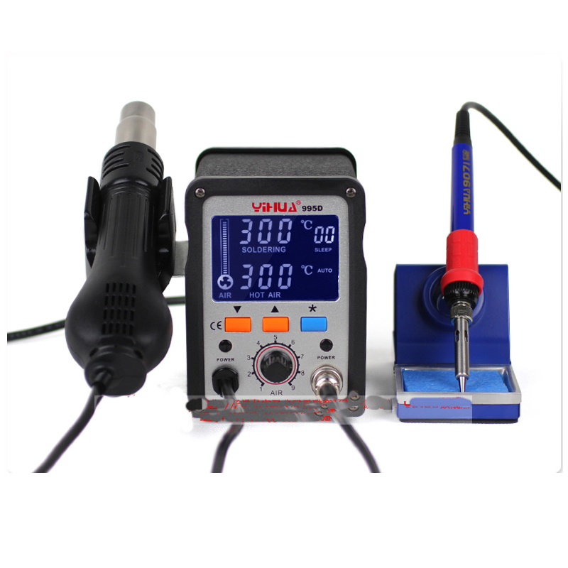 YIHUA 995D+ LCD bga Rework Station Hot Air Gun soldering station