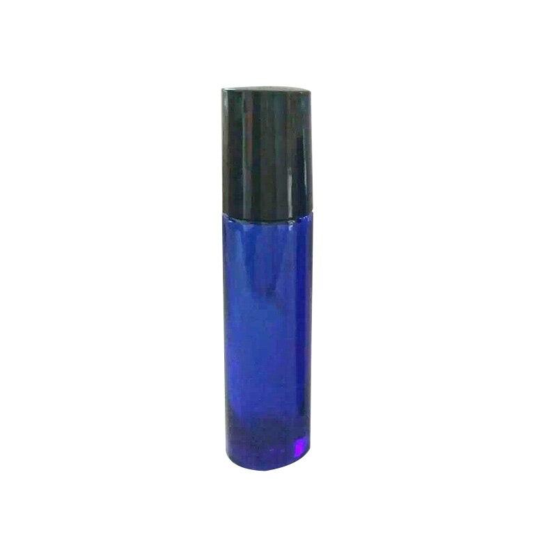 10ml 10PCS Empty Glass Roll on Bottle Roller Ball Ergonomic Design Refillable Perfume Bottles Leak Proof Secure Convenient