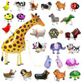 Original Animals Walking Pet Balloon Toys For Children Kids Gifts Fun Party Animal Foil Balloons Children's toys New Funny Toys