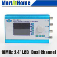10MHz 2 4 LCD Arbitrary Waveform Wave DDS Function Signal Generator Dual Channel BV293 SD