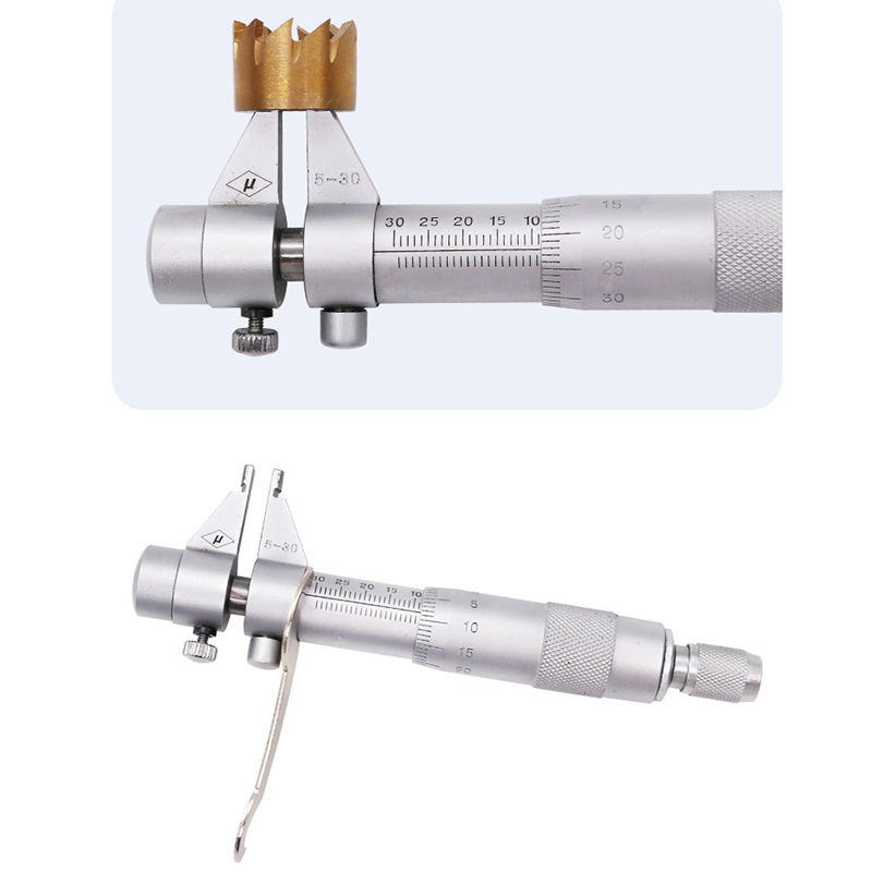 Measurable precision hole diameter is 0.01 mm parts of 5-30 mm inside diameter micrometer measuring vernier micrometer vacuum pump inlet filters f007 7 rc3 out diameter of 340mm high is 360mm