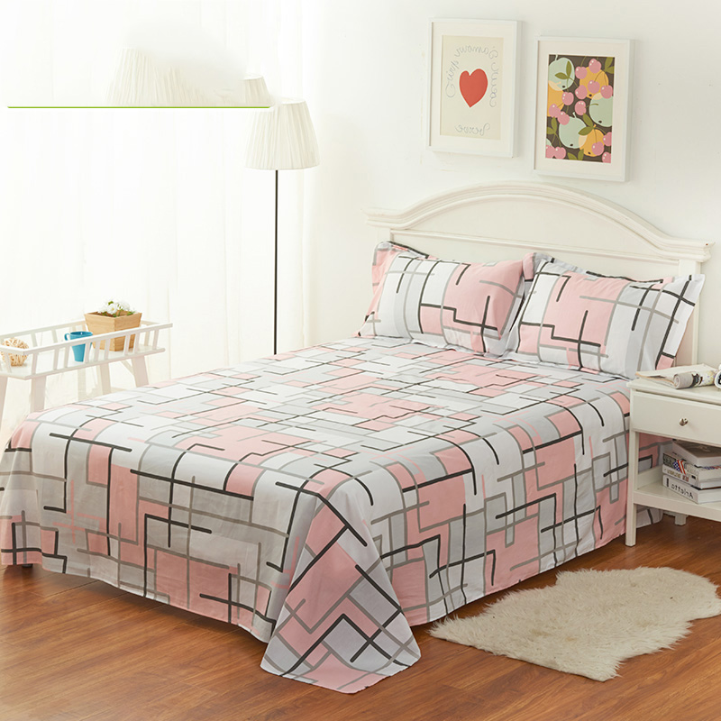 Brand Design Soft Home Textile Bedding Fitted Sheets