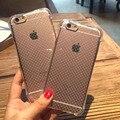 """Anti queda phone cases para iPhone 6 caso 6 s 4.7 """" transparente TPU tampa traseira para o iPhone 6 mais 5.5 """" cover almofada de ar de proteção"""