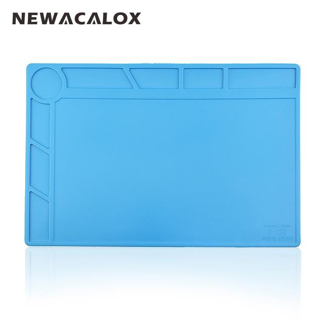 Newacalox высокое Температура сопротивление Точное поддержание силиконовый коврик охраны окружающей среды для сварки ремонт не твердеет