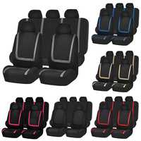 Universal Car Seat Cover Polyester Fabric Automobile Seat Covers Car Seat Cover Vehicle Seat Protector Interior Accessories