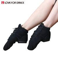 LOVE FOR DANCE 2017 New Men Women Sports Dancing Sneakers Canvas Soft Sole Jazz Dance Shoes
