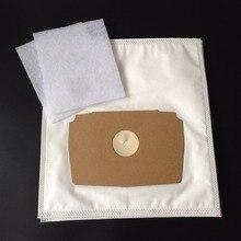 Cleanfairy 10 pçs aspirador de pó sacos de filtro compatível com royal electrolux 748 749 750 768 770 780 790 lux d775 d795