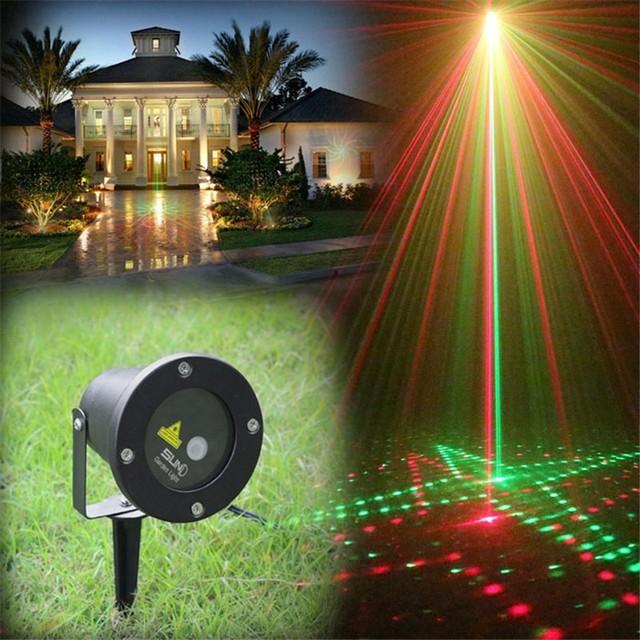 20in1 outdoor ip65 waterproof kerstverlichting buiten laserlicht rg