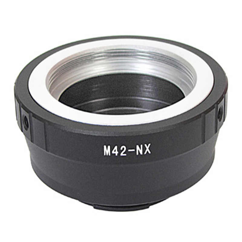 Foleto anillo adaptador de lente M42-NX PK-NX M42 montaje para canon nikon pentax LR PB AR CY lente para Samsung NX NX5 NX10 n20 n30 Cámara