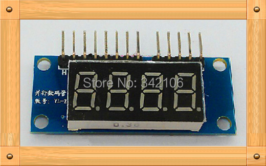 Free Shipping!!!  0.36 inches four digital display module / LED module / 4 Parallel 8550 driverFree Shipping!!!  0.36 inches four digital display module / LED module / 4 Parallel 8550 driver