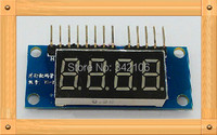 Free Shipping 0 36 Inches Four Digital Display Module LED Module 4 Parallel 8550 Driver