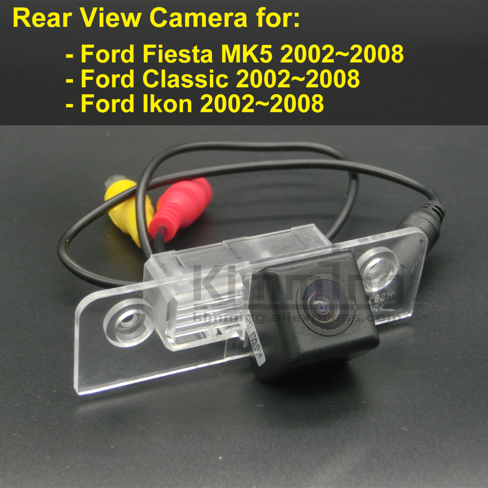 Car Rear View Camera for <font><b>Ford</b></font> <font><b>Fiesta</b></font> MK5 Classic fit Ikon 2002 <font><b>2003</b></font> 2004 2005 2006 2007 2008 Wireless Reversing Parking Camera image