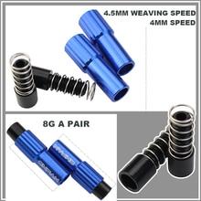 EKfan 2pcs MTB Bike High Quality Adjust Housing Cap Brake Cable Gear Shift Connector Line Regulator