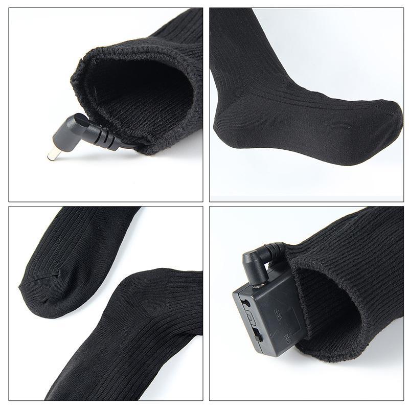 Warmski Unisex Thermal Cotton Heated Socks 12