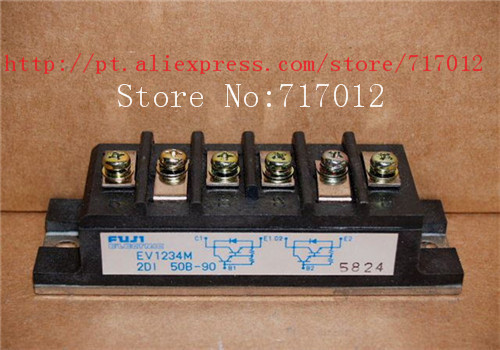 ФОТО Free Shipping EV1234M-2DI50B-90 No New(Old components,Good quality) FET module 50A 900V,Can directly buy or contact the seller
