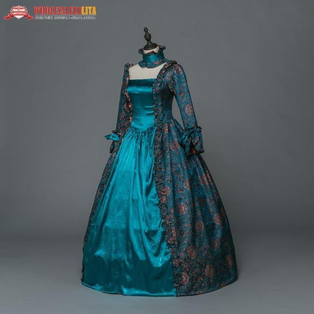 f0ab70cb6 Gótico medieval Vestidos renacimiento brocado vestido Steampunk reenactment  ropa