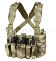 Outdoor Tactical Bag Camouflage backpack vest Army Fans Bag 600D polyester material A5105