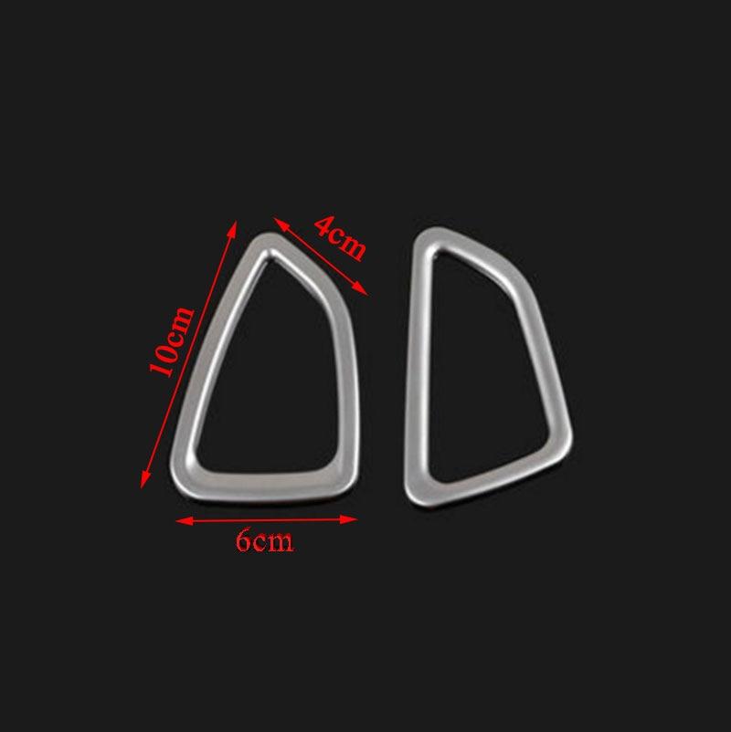 Carmilla 2X Car-Styling Front Air Vent Trim Air Vent Outlet Cover - Ավտոմեքենայի արտաքին պարագաներ - Լուսանկար 5