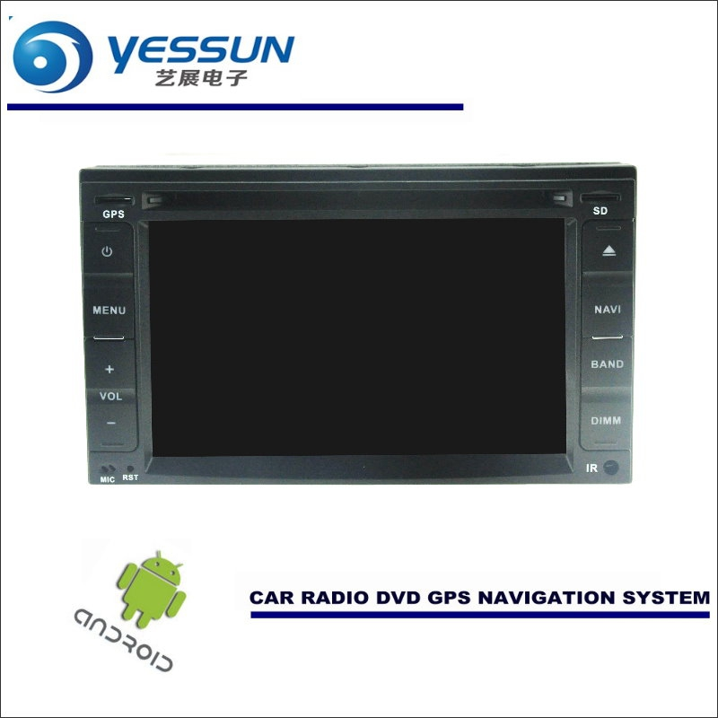 Yessun Car Android Navigation System For Nissan Note Versa 2005 2016 Radio Stereo Cd Dvd Player Gps Navi Screen Multimedia In