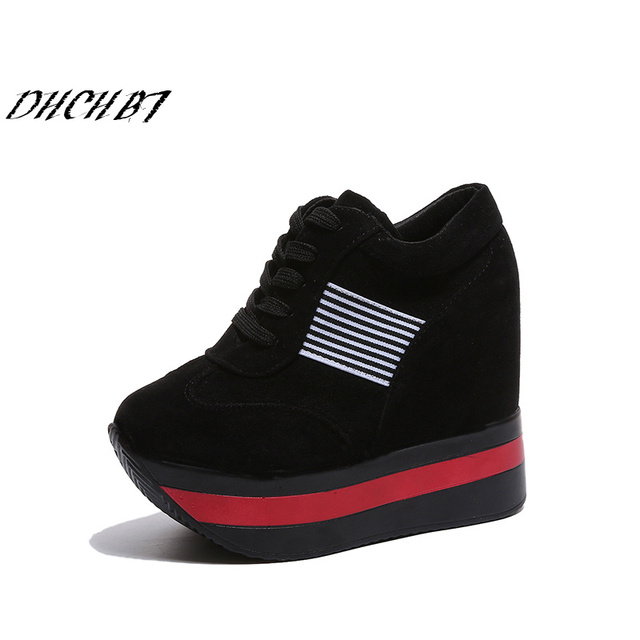 ae82f200b0bc Woman Shoes High Heels Platform Casual Free Shipping of Wedge Casual Shoes  Fitness Shoes The 2018 New Fashion Casual Women Shoes