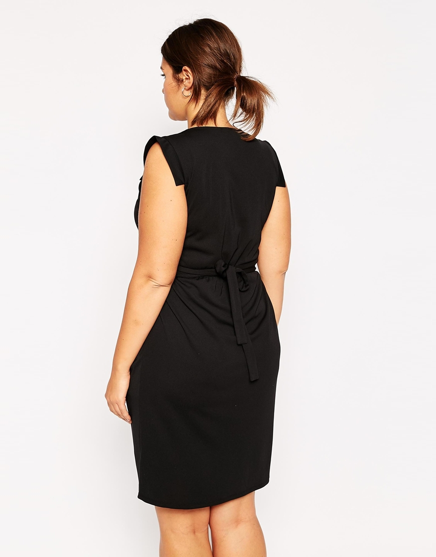 3XL 6XL Plus size office work dresses Casual sexy v neck dress woman with  belt design fashion party pencil dress with folds053-in Dresses from Women s  ... af6db5102135