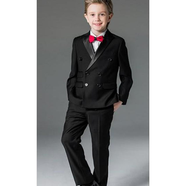 Online Shop 2018 Jacket and Pants 2Pcs Boys Suits for Wedding Prom ...