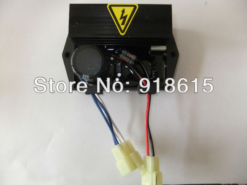 AVR9-1,Automatic voltage regulator,single phase,gasoline or diesel generator spare part. free shipping 1 phase diesel generator avr suit for ask r180b ask r150b 220v 8kva automatic voltage regulator