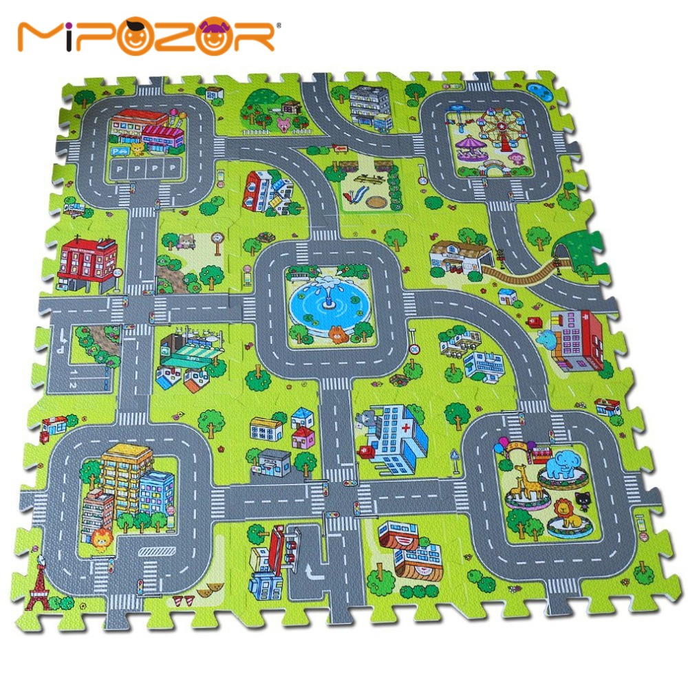 play larger view set doug activity rug with melissa dp deluxe amazon road com vehicles