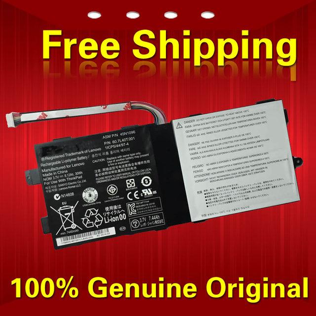 Frete grátis 45N1096 45N1099 45N1098 45N1720 45N1097 45N1721 Bateria do laptop Original Para Lenovo Tablet 2x220 t