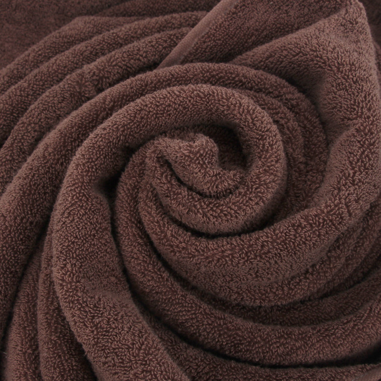2019 New luxury Blue Brown White Men Cotton Bath Towel Brand Serviette de bain Adulte Embroidery Large Beach Towels 70x140cm in Bath Towels from Home Garden