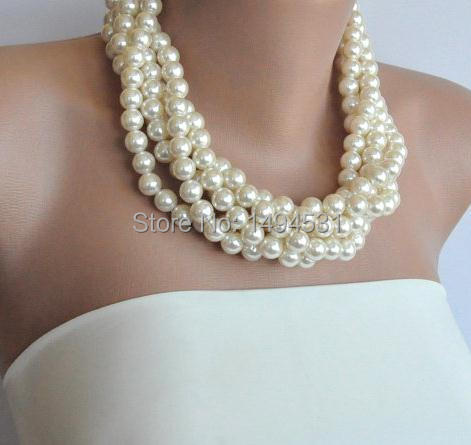 Wholesale Pearl Jewelry Handmade Bridesmaids Wedding Pearl Necklace Brides Bridesmaids Gifts Special Occasion - XZN149 вагина vibrating lady