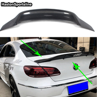 For Volkswagen Passat CC Carbon Fiber Rear Wing Spoiler 2010~2015 Renntech Style